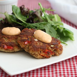 Low Carb Crab Cakes with Cajun Mayo Recipe