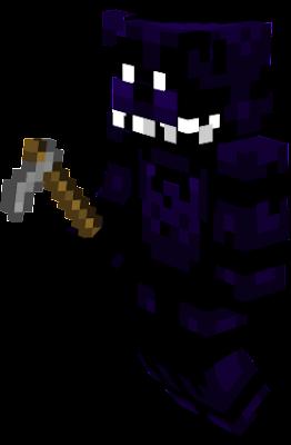 Shadow Freddy Has A Stone Hoe.
