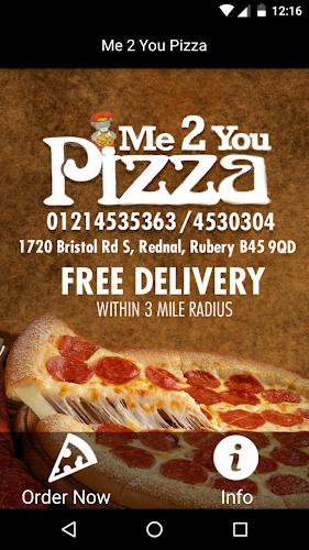 Me 2 You Pizza Rubery Apk