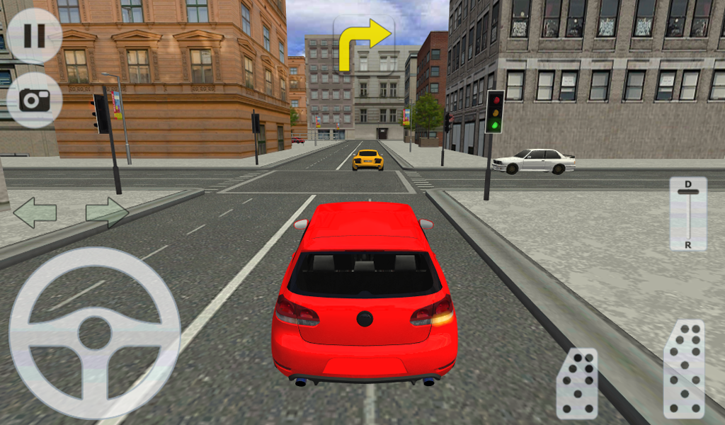 Real Car Games With Traffic Lights