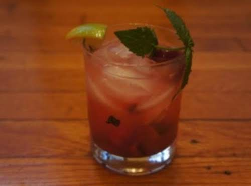 Cherry Lime Mojito I used to work as a bartender and learned...