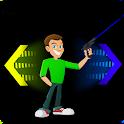 Stickman Портал Gun icon