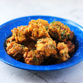 Pakora Recipe | Crispy Zucchini Fritters.