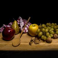 Caos di frutta ordinata. di