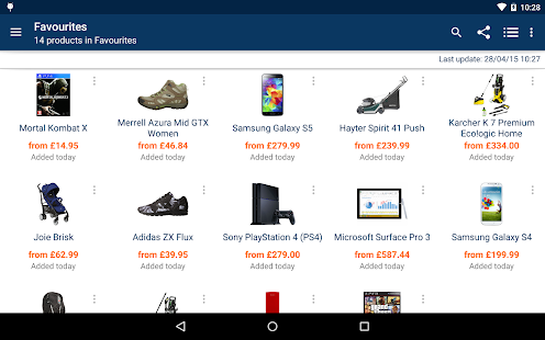 idealo Price Comparison - screenshot thumbnail