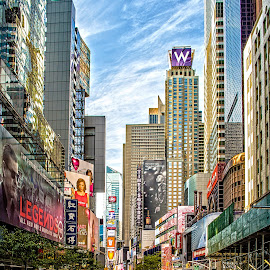 Times Square by Richard Michael Lingo - City,  Street & Park  Historic Districts ( historic, city, manhattan, times square, new york )
