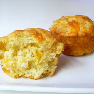 Corn and Cheddar Muffins.