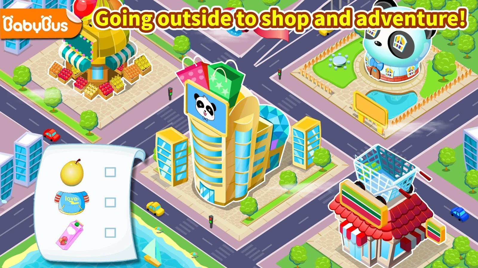 Travel Safety - Educational Game for Kids- screenshot