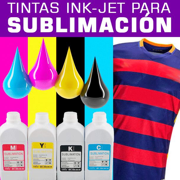 venta de Tintas para hacer sublimado
