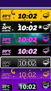 Download Night Digital Clock Widget For PC Windows and Mac
