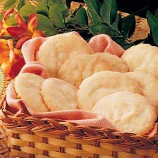 Crisp Lemon Sugar Cookies.