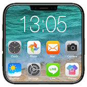 iLauncher OS11-Phone X style
