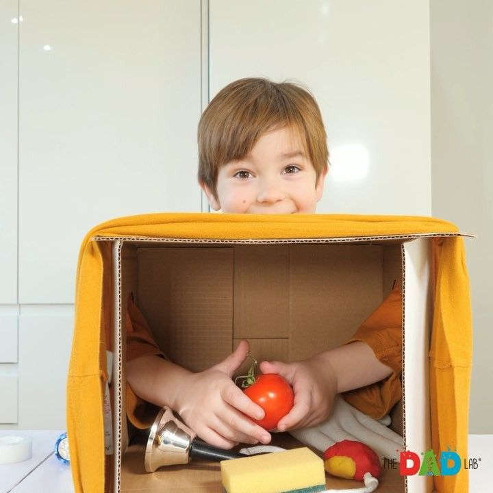 What's in the Box Sensory Game
