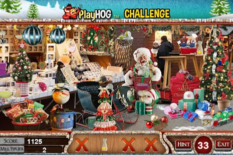Challenge #167 Christmas Sale Free Hidden Objects - náhled