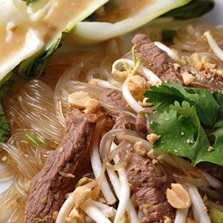 Cellophane Noodles With Beef