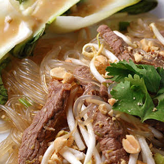 Cellophane Noodles With Beef.