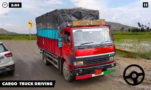 Hill Cargo Truck Simulator Transport Free Drive  captures d'écran 1