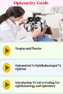 Optometry Guide - náhled