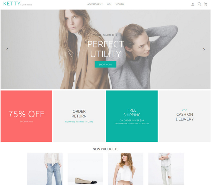 Magento 2 templates and themes
