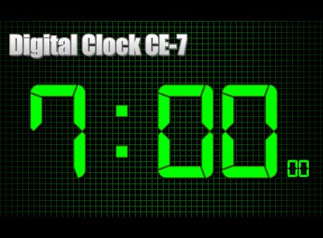 Digital Clock CE-7