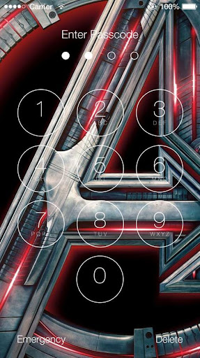 Avengers: Age of Ultron Lock Screen 1.4 screenshots 1