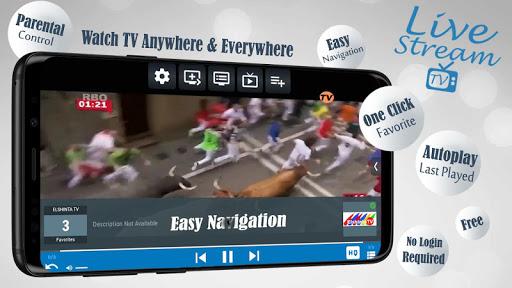 Livestream TV - M3U Stream Player IPTV 3.3.1.2 screenshots 2