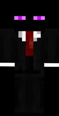 Suit And Tie Enderman Nova Skin