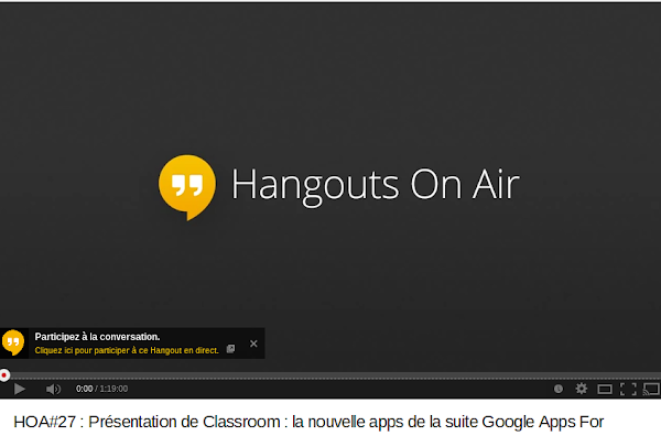 HOA 27   Présentation de Classroom   la nouvelle apps de la suite Google Apps For Education.   YouTube.png