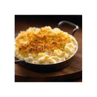 "All Natural Alouette® Savory Vegetable Baked ""mac & Cheese""."