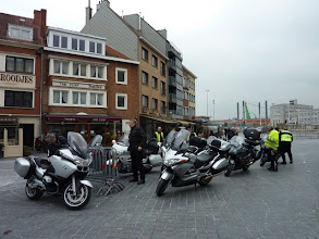 Photo: aankomst in Oostende