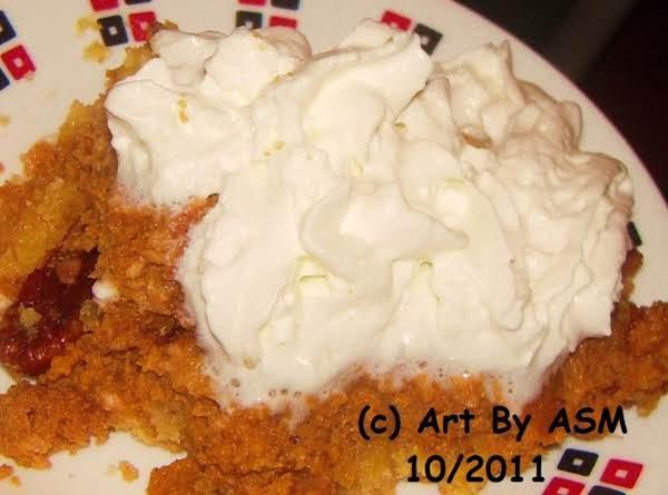 Pumpkin Pie Dump Cake Recipe
