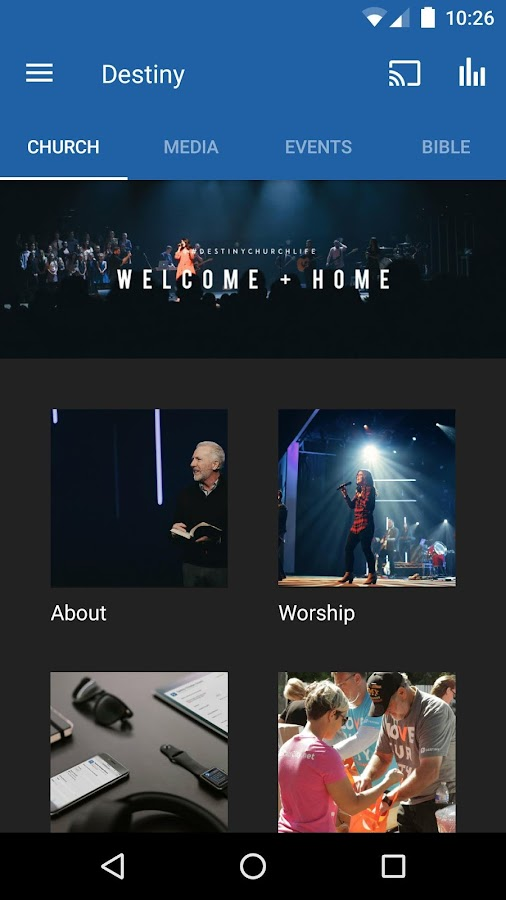 Destiny Christian Church- screenshot