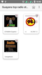Guyana radios - náhled