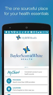 MyBSWHealth- screenshot thumbnail