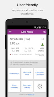 Alma Media Investor Relations- screenshot thumbnail