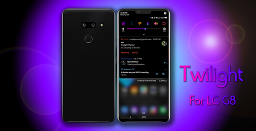 Screenshot for Twilight Theme for LG G8 in United States Play Store
