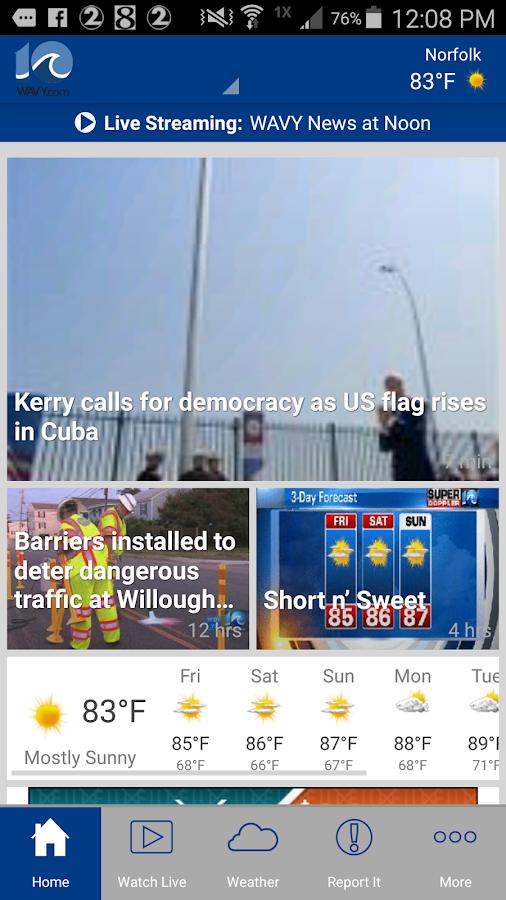WAVY TV 10- screenshot