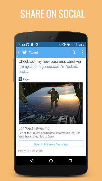 Business Cards - screenshot