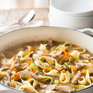 Chicken and Vegetable Noodle Soup Recipe