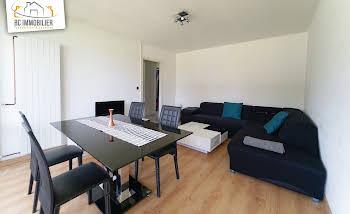 Appartement meublé 2 pièces 47,47 m2