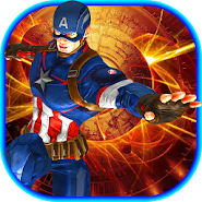 Strange Heroe Captain USA Army APK icon