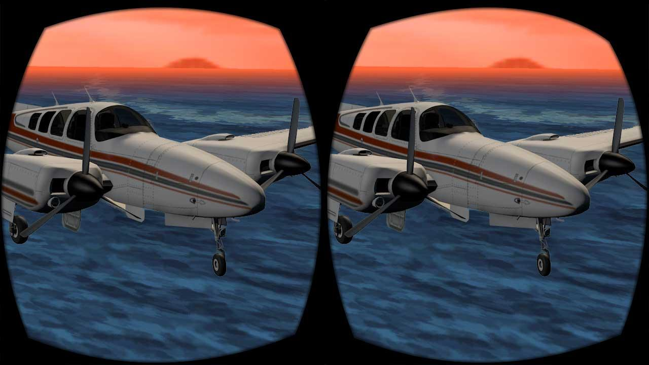 vr airplane flight simulator android apps on google play