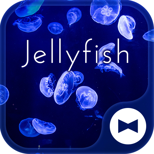 Beautiful Wallpaper Jellyfish Theme Icon