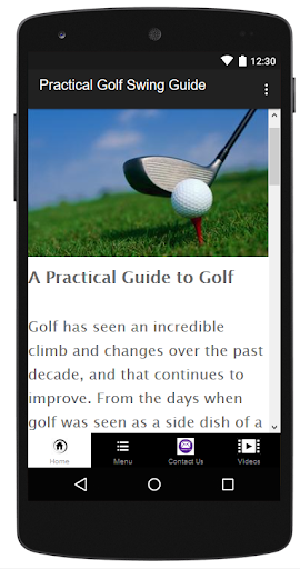 Practical Golf Swing Guide