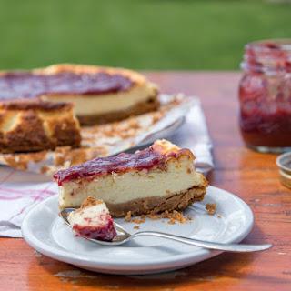Wild Strawberry Cheesecake.