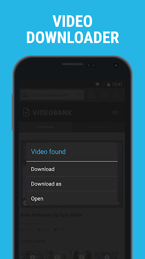 Downloader & Private Browser v2.4.18 [Premium]