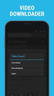 Downloader & Private Browser Screenshot 1
