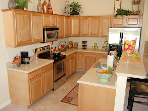 Photo: The kitchen from one of our BAYBERRY condominiums