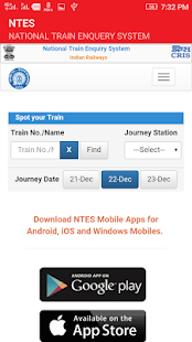 NTES-Easy Train Enquiry - náhled