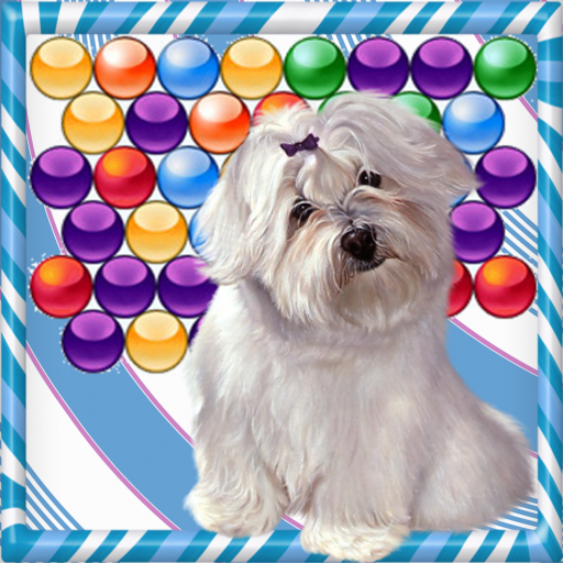 Super Dog Bubble Shooter